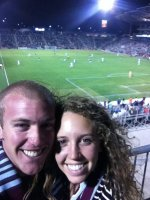 Jacob attended Colorado Rapids vs Portland Timbers...MLS on Sep 5th 2012 via VetTix