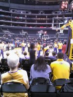 Delvin attended Los Angeles Sparks vs. New York Liberty - WNBA - Thursday Afternoon Game on Jul 4th 2013 via VetTix