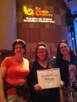 Amy attended Symphony Idol w/Lakisha Jones, Haley Scarnato & Matt Giraud (Sunday Matinee) on Sep 29th 2013 via VetTix