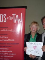 David attended Guards at the Taj - Military Night at La Jolla Playhouse on Feb 5th 2016 via VetTix