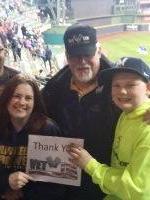 Dennis attended Milwaukee Brewers vs. Philadelphia Phillies - MLB on Apr 22nd 2016 via VetTix