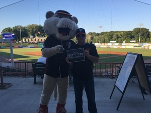Eric attended Tri City Valleycats vs. Lowell Spinners on Aug 25th 2016 via VetTix