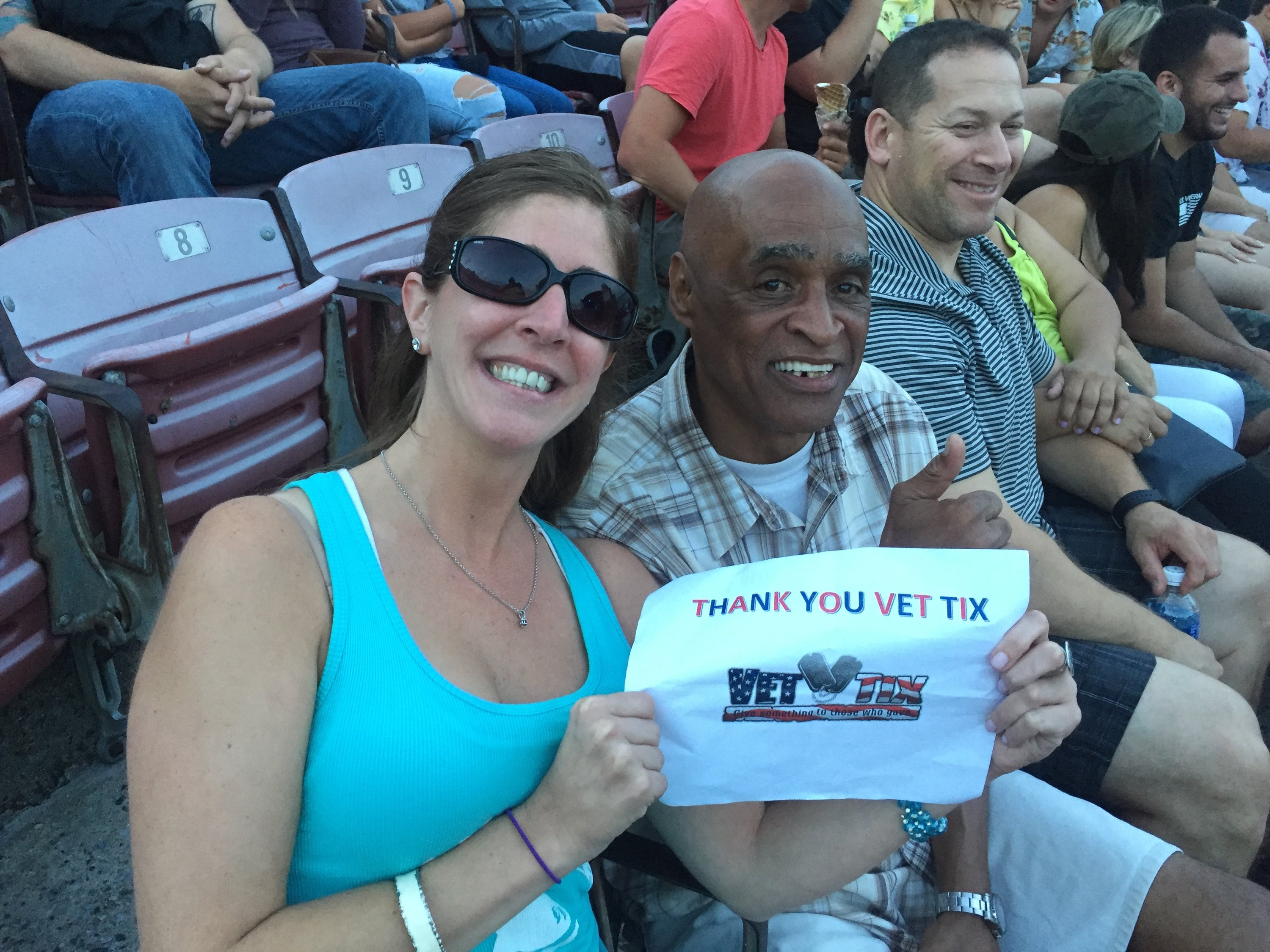 Event Tickets for Currently Serving Military, Veterans and their Families