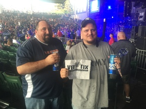 matthew attended Darius Rucker: the Good for a Good Time Tour With Special Guest,  Dan + Shay and Michael Ray on Aug 25th 2016 via VetTix
