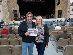 RicK attended Peter Frampton on Aug 25th 2016 via VetTix