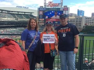 Kara attended Detroit Tigers vs. Kansas City Royals - MLB on Sep 24th 2016 via VetTix