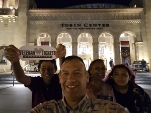 Marvin attended Off the Charts - Great Number One Hits - Presented by the San Antonio Symphony on Sep 24th 2016 via VetTix