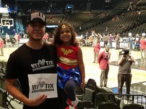 Darwin attended Brooklyn Nets vs. Chicago Bulls - NBA on Oct 31st 2016 via VetTix