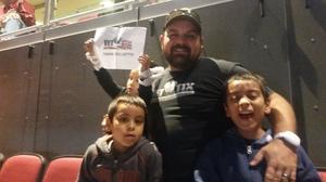 Kristofer attended Arizona Coyotes vs. Philadelphia Flyers - NHL - Opening Night on Oct 15th 2016 via VetTix
