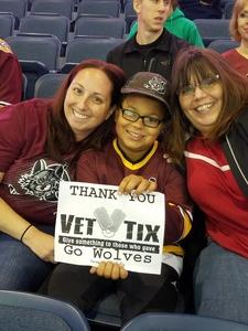 Sara attended Chicago Wolves vs. Cleveland Monsters - AHL - Pokemon Go Day and Post Game Autographs on Oct 30th 2016 via VetTix