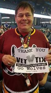 Michael attended Chicago Wolves vs. Cleveland Monsters - AHL - Pokemon Go Day and Post Game Autographs on Oct 30th 2016 via VetTix