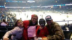 Fernando attended Chicago Wolves vs. Cleveland Monsters - AHL - Pokemon Go Day and Post Game Autographs on Oct 30th 2016 via VetTix