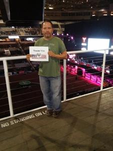 Henry attended PBR: Built Ford Tough Series on Oct 15th 2016 via VetTix