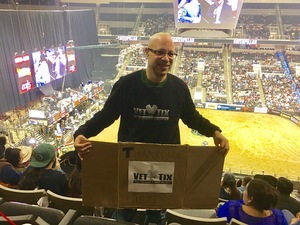 Paul attended PBR: Built Ford Tough Series on Oct 15th 2016 via VetTix