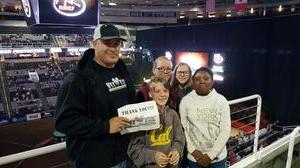 Hopkins attended PBR: Built Ford Tough Series on Oct 15th 2016 via VetTix