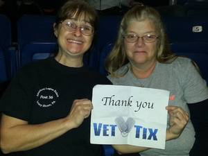 Fran attended Chris Young - Live in Concert on Dec 3rd 2016 via VetTix