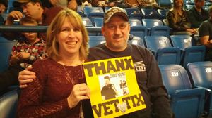 William, USN Retired attended Chris Young - Live in Concert on Dec 3rd 2016 via VetTix