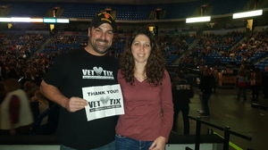 Matthew attended Chris Young - Live in Concert on Dec 3rd 2016 via VetTix