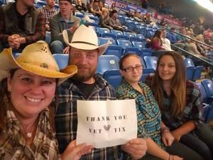 Betti attended Chris Young - Live in Concert on Dec 3rd 2016 via VetTix