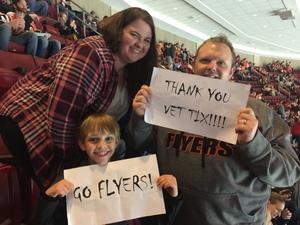 Daniel attended Philadelphia Flyers vs. Ottawa Senators - NHL on Nov 15th 2016 via VetTix