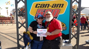 Wesley attended Can-am 500 - Nascar Sprint Cup Series - Phoenix International Raceway on Nov 13th 2016 via VetTix