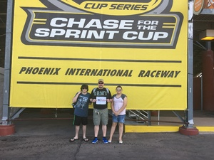 Brian attended Can-am 500 - Nascar Sprint Cup Series - Phoenix International Raceway on Nov 13th 2016 via VetTix