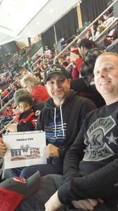 Jose attended New Jersey Devils vs. Carolina Hurricanes - NHL - Hoops for Troops Night!! on Nov 8th 2016 via VetTix