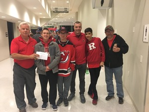 Robert A attended New Jersey Devils vs. Carolina Hurricanes - NHL - Hoops for Troops Night!! on Nov 8th 2016 via VetTix