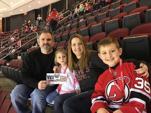 Scott attended New Jersey Devils vs. Carolina Hurricanes - NHL - Hoops for Troops Night!! on Nov 8th 2016 via VetTix