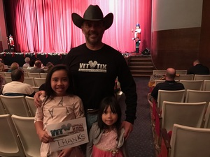 Jose attended The Nutcracker - Performed by North Texas Youth Ballet on Dec 11th 2016 via VetTix