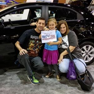 Jason Llewellyn attended Arizona International Auto Show on Nov 24th 2016 via VetTix