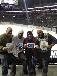 Christopher attended New York Islanders vs. Florida Panthers - NHL on Jan 11th 2017 via VetTix