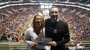 Bruce attended Phoenix Suns vs. Denver Nuggets - NBA - Afternoon Game on Nov 27th 2016 via VetTix
