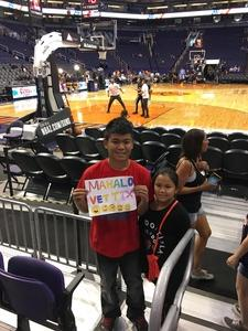 Greg attended Phoenix Suns vs. Denver Nuggets - NBA - Afternoon Game on Nov 27th 2016 via VetTix