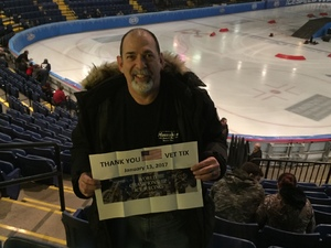 Steve attended World Championship Ice Racing - the Greatest Spectacle on Ice on Jan 13th 2017 via VetTix