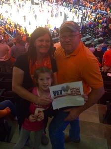 Mark attended University of Tennessee Lady Vols vs. Notre Dame - NCAA Women's Basketball on Jan 16th 2017 via VetTix