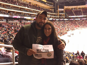 Steve attended Arizona Coyotes vs. Calgary Flames - NHL on Dec 19th 2016 via VetTix