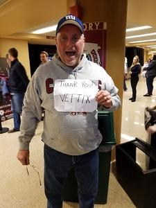 Leonard attended Arizona Coyotes vs. Calgary Flames - NHL on Dec 19th 2016 via VetTix