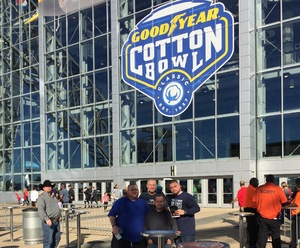 JEFFREY attended Cotton Bowl Classic - Western Michigan Broncos vs. Wisconsin Badgers - NCAA Football on Jan 2nd 2017 via VetTix