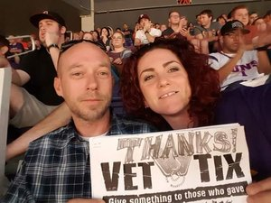 Conrad attended Motel 6 Cactus Bowl - Baylor Bears vs. Boise State Broncos - NCAA Football on Dec 27th 2016 via VetTix