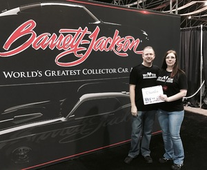 Emery attended Barrett Jackson - the Worlds Greatest Collector Car Auctions - 1 Ticket Equals 2 - Kids 5 and Under Don't Need a Ticket on Jan 15th 2017 via VetTix