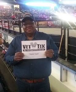 Alvis Hudson attended PBR - Chicago Invitational - Friday on Jan 13th 2017 via VetTix