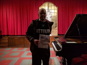 Walter Ronald attended Michael Mcelvain, Pianist on Jan 8th 2017 via VetTix