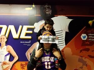 Mario attended Phoenix Suns vs. Miami Heat - NBA on Jan 3rd 2017 via VetTix