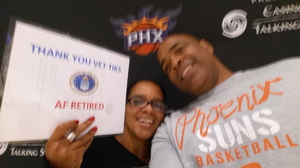 Christopher attended Phoenix Suns vs. Miami Heat - NBA on Jan 3rd 2017 via VetTix