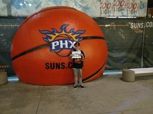 Scott attended Phoenix Suns vs. Miami Heat - NBA on Jan 3rd 2017 via VetTix