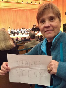 Mark attended Tristan and Isolde - Presented by the Utah Symphony on Jan 13th 2017 via VetTix
