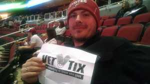 Joshua attended Arizona Coyotes vs. New York Islanders - NHL - All Tickets in Lower Level on Jan 7th 2017 via VetTix