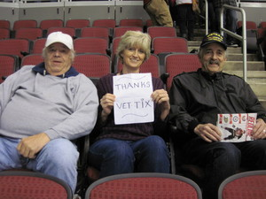 Beth attended Arizona Coyotes vs. New York Islanders - NHL - All Tickets in Lower Level on Jan 7th 2017 via VetTix