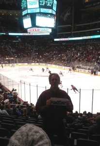 Mark attended Arizona Coyotes vs. New York Islanders - NHL - All Tickets in Lower Level on Jan 7th 2017 via VetTix